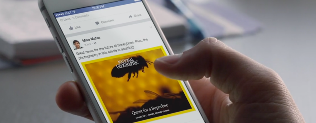 How Facebook Instant Articles Will Kill Your Blog